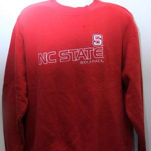 """90's Vintage """"N.C. STATE WOLFPACK""""  Sweatshirt"""
